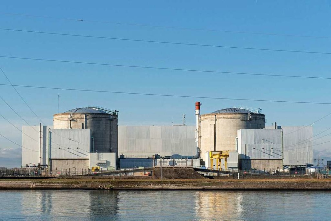 Das Atomkraftwerk Fessenheim  | Foto: Patrick Seeger (dpa)