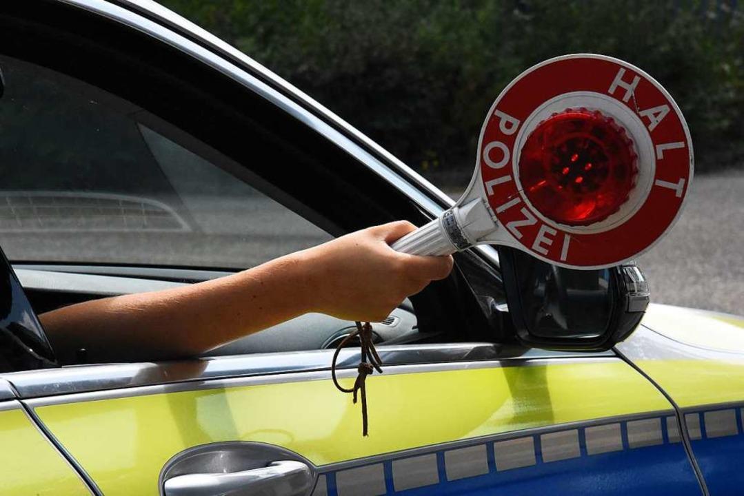 Die Polizei erwischte in Lörrach und S... und bekiffte Autofahrer (Symbolbild).  | Foto: Kathrin Ganter