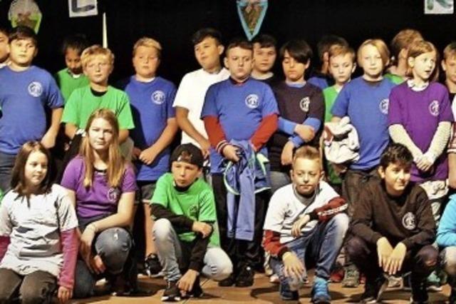 Bühne frei für 51 Neue an der Gemeinschaftsschule