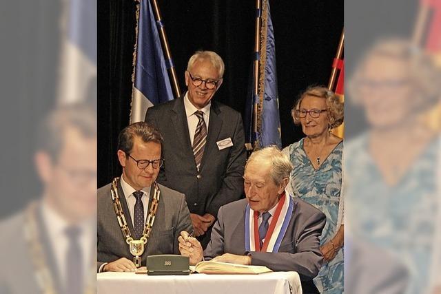 60 Jahre Partnerschaft groß gefeiert