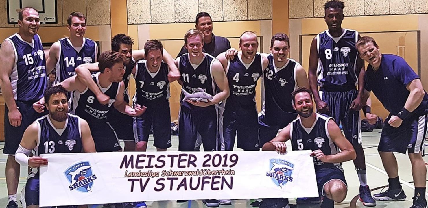 <BZ-FotoAnlauf>TV Staufen Sharks: </BZ...> Basketballer starten in die Oberliga  | Foto: TV Staufen Sharks