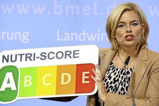Klöckner will Nutri-Score