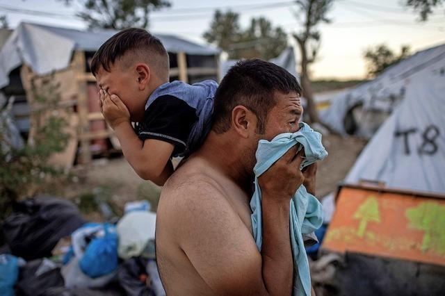 Tote bei Brand in Flüchtlingscamp