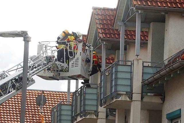 Proberettung aus der Pater-Middendorf-Seniorenwohnanlage in Stegen