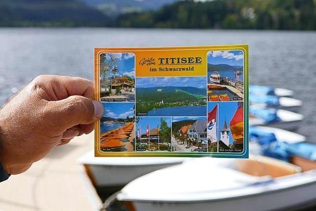Warum schreibt man eine Postkarte?