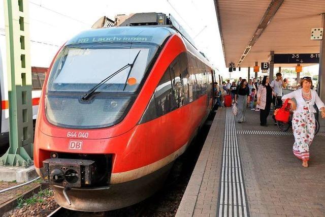 Die Planung für den Ausbau der Hochrheinbahn kann beginnen