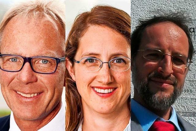 So werben die Kandidaten für die Bürgermeisterwahl in Au um Wähler