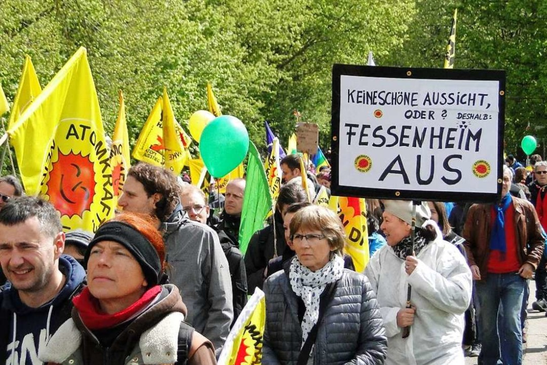 Der Protest war erfolgreich: 2020 werd...tig stillgelegt (Archivbild von 2016).  | Foto: Elisabeth Saller