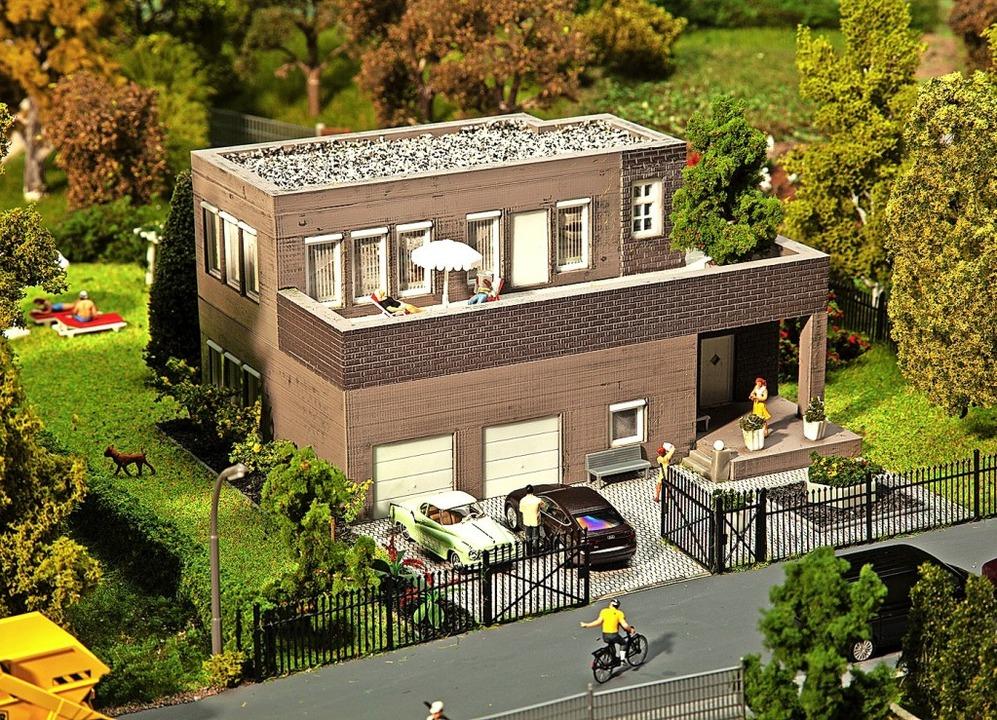 Individuelle Gebäudemodelle aus dem 3D...gitalisierung in der Modellbaubranche.  | Foto: Gebr. Faller