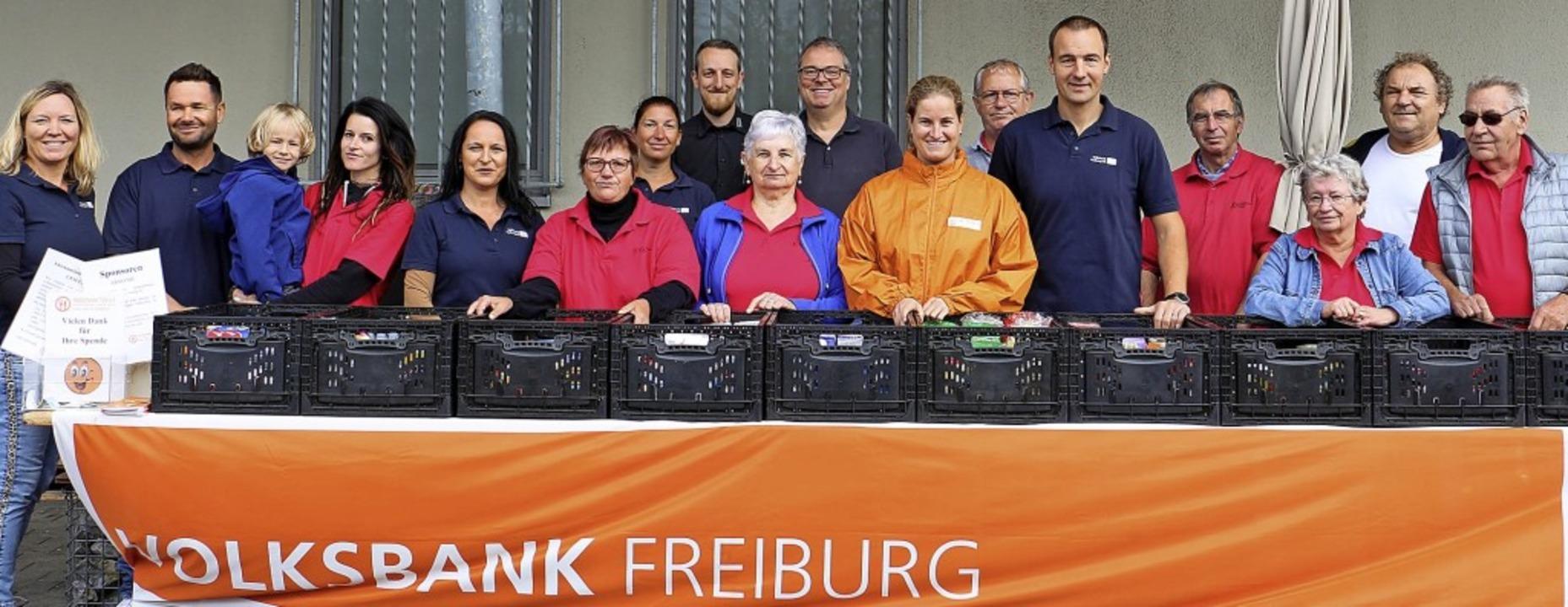 Aktionstag für die Endinger Außenstell...olzheimer Tafel am Samstag in Endingen  | Foto: Ruth Seitz