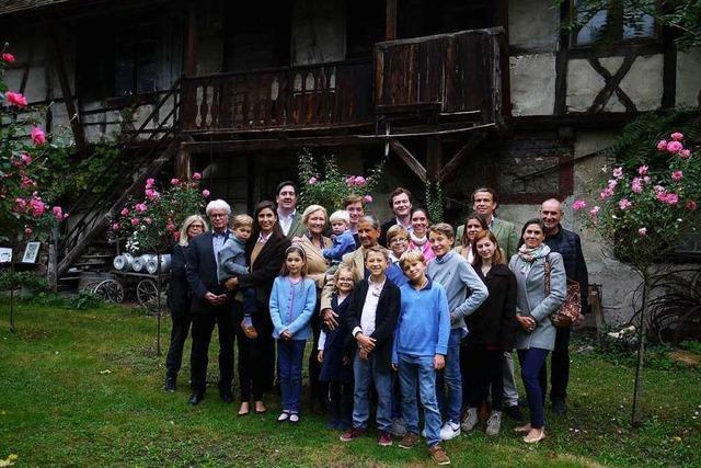 Warum ein Adelsfamilie aus dem Landkreis Biberach Weil besucht hat