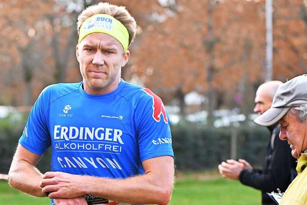 Zuweilen  startet Nils Frommhold auch ...wie hier beim Crosslauf in Denzlingen.  | Foto: Achim Keller