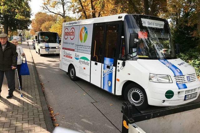 Bad Krozingens Bürgerbus schon 15 Jahre erfolgreich unterwegs