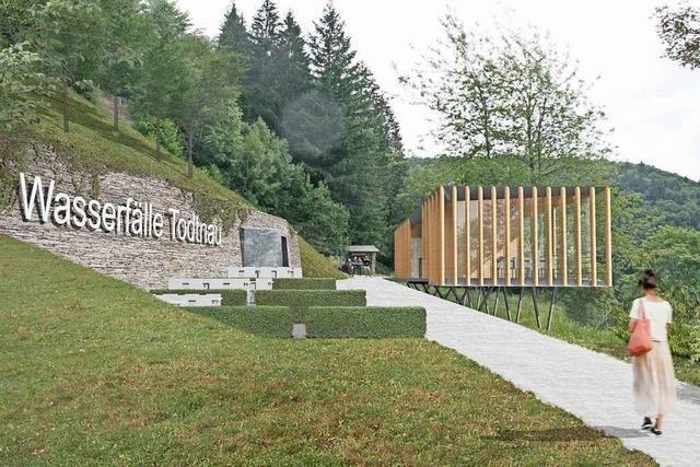 Das Todtnauer Wasserfallportal muss kleiner gebaut werden als geplant