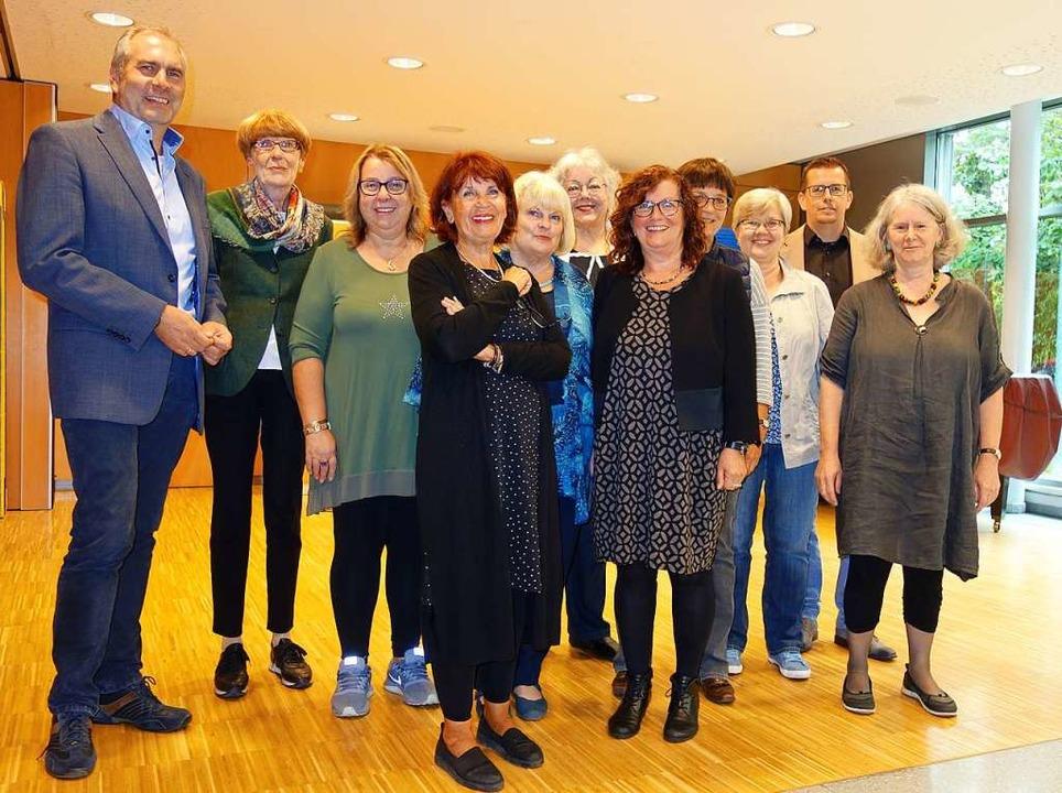 Unterstützer und Organisatoren  | Foto: Gudrun Gehr