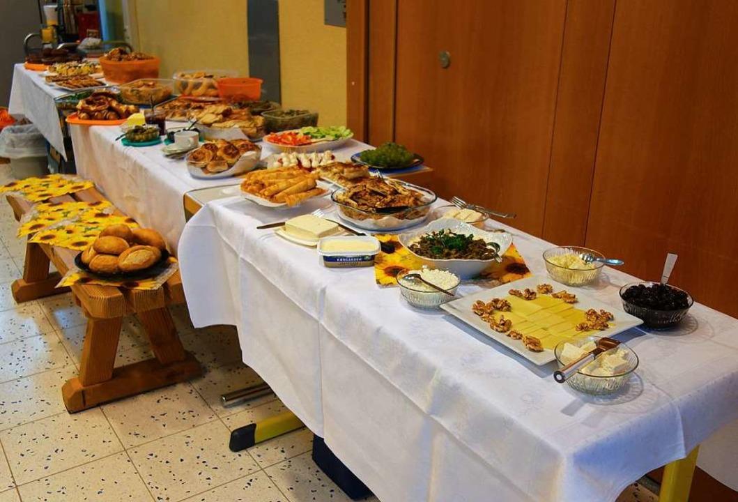 Ein unwiderstehliches Frühstücksbuffet  | Foto: Gudrun Gehr