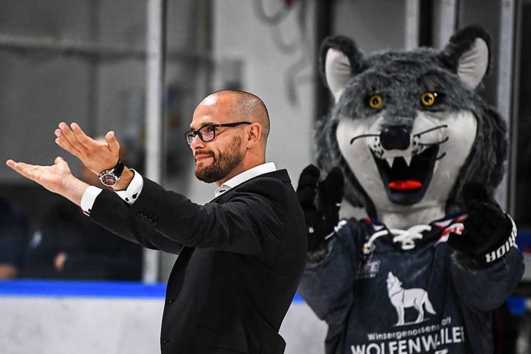 Auch Sportdirektor Daniel Heinrizi wil...HC Freiburg Aufbruchstimmung erzeugen.  | Foto: Patrick Seeger