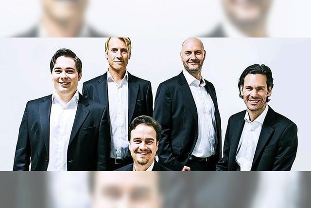Das Leipziger Vokalensemble Amarcord konzertiert im Dom zu St. Blasien