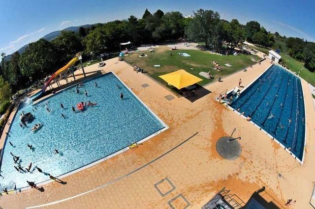 Es war ein gutes Jahr für die Schwimmbäder im Breisgau