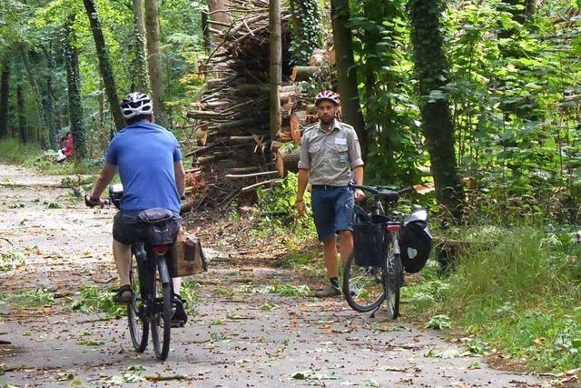 Die Ranger im Landschaftspark Wiese stoßen auf hohe Akzeptanz