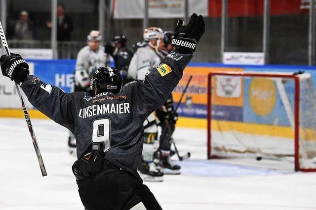 EHC Freiburg gewinnt in Ravensburg mit 4:2