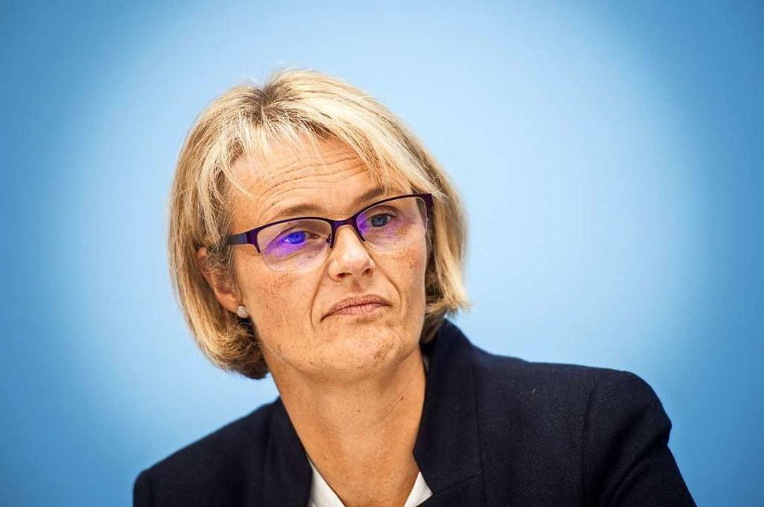Bundesforschungsministerin Anja Karliczek  | Foto: Arne Immanuel Bänsch (dpa)