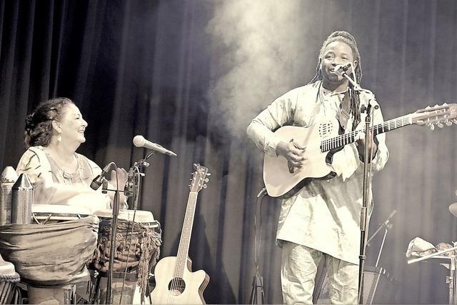 Tilibo Mooya (Mamoudou Doumbouya und Anatou) in Emmendingen