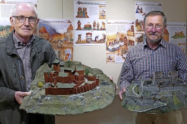 Burgen im Miniaturformat