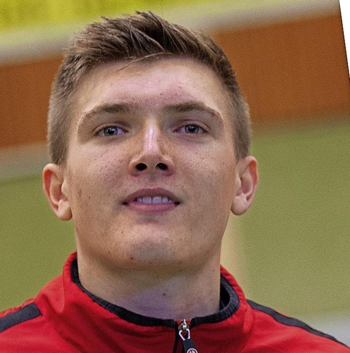 Mannschaftsführer Lukas Burger  | Foto: Alexandra Buss