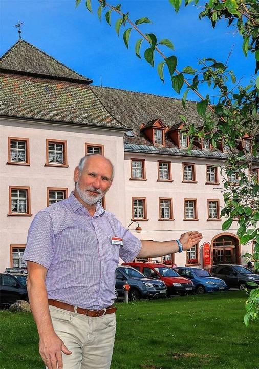 Die Tage von Schloss Friedenweiler als...ein neues Pflegeheim errichten lassen.  | Foto: (c) Gerd Lache