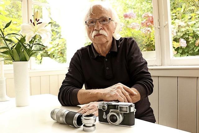 Winterreise mit Vaters alter Leica
