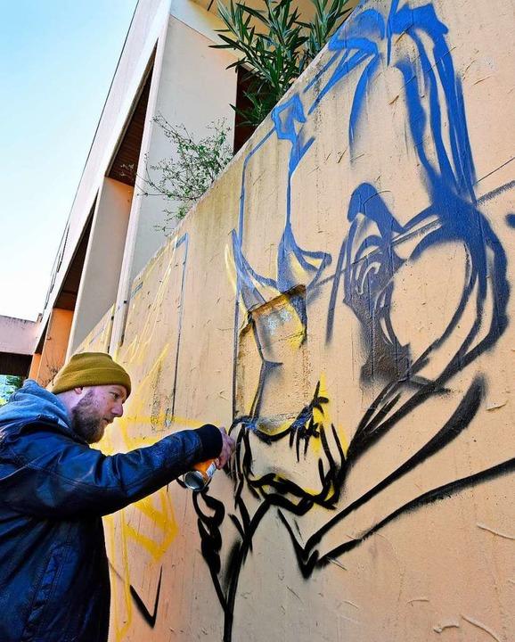 Graffiti-Kunst auf Beton  | Foto: Michael Bamberger