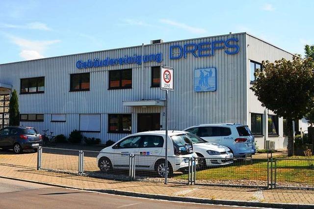 Die Firma Gebäudereinigung Drefs in Schopfheim wird 50 Jahre alt