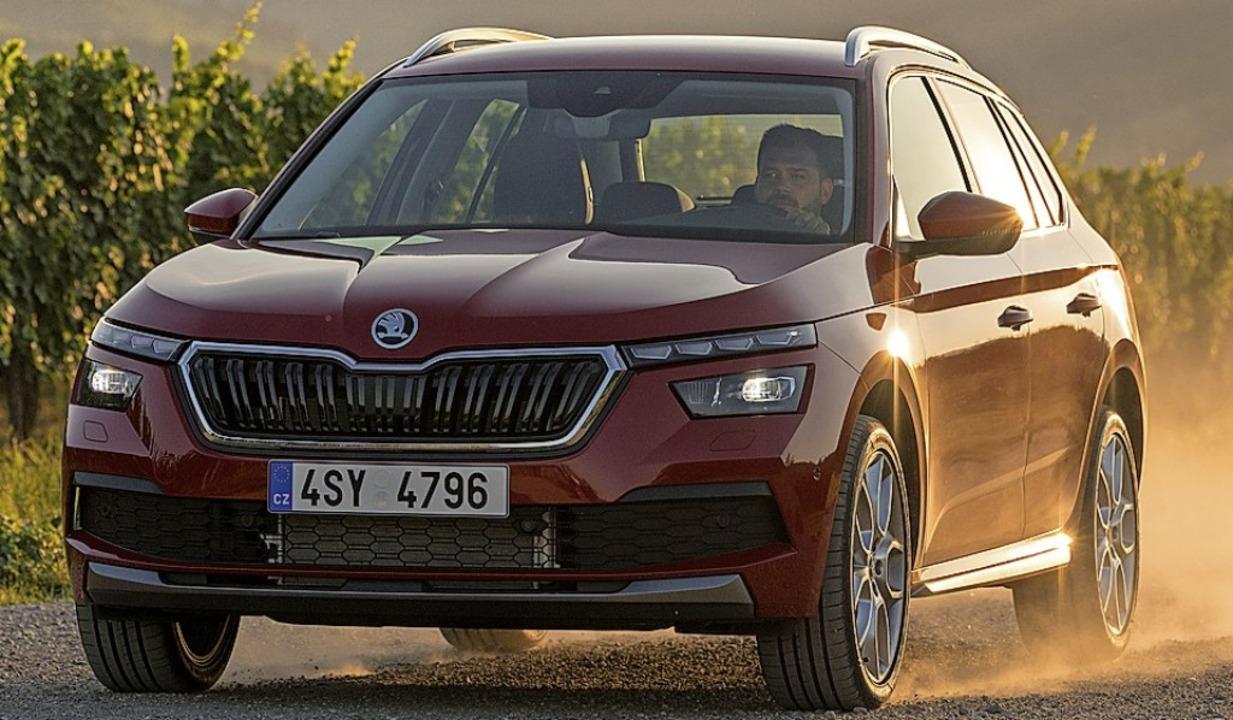 Klare Linien kennzeichnen auch Škodas kleinen SUV.  | Foto: Werkbild