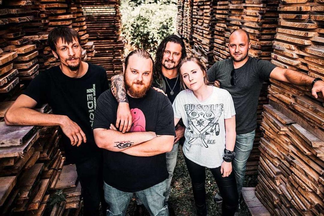 Excess Inside sind eine der acht Bands beim Junghof-Rock.  | Foto: LUKAS LEINDERS