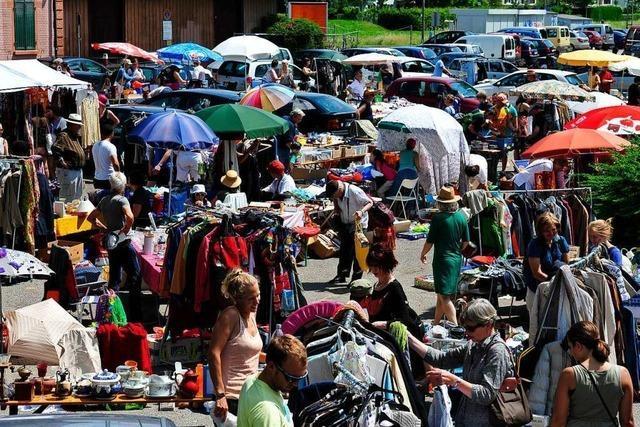 Am Samstag ist SPD-Flohmarkt auf dem PH-Parkplatz in Littenweiler