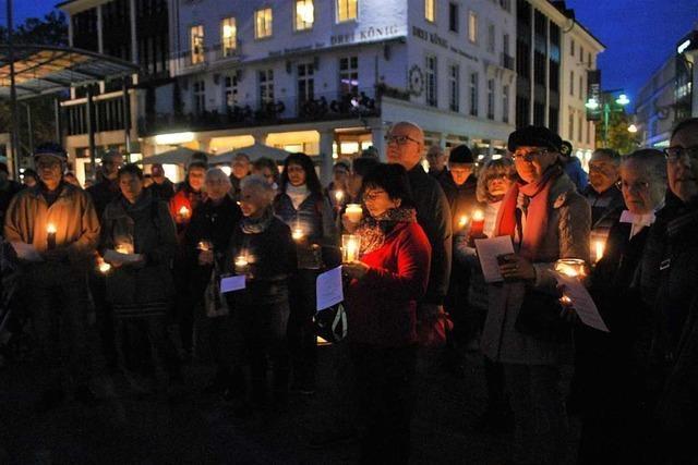 Evangelische Christen aus Lörrach erinnern an den Fall der Berliner Mauer