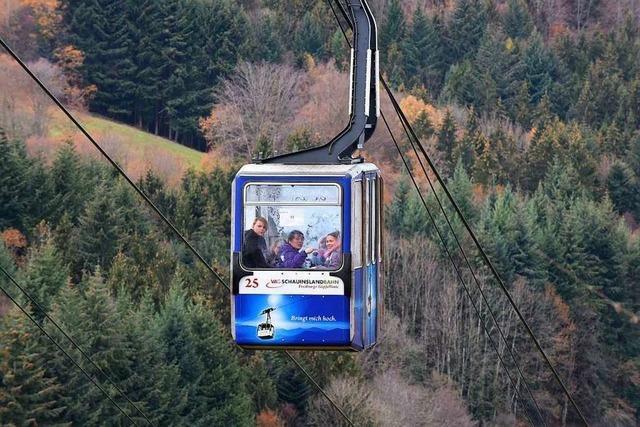Schauinslandbahn ist am heutigen Freitag nicht in Betrieb