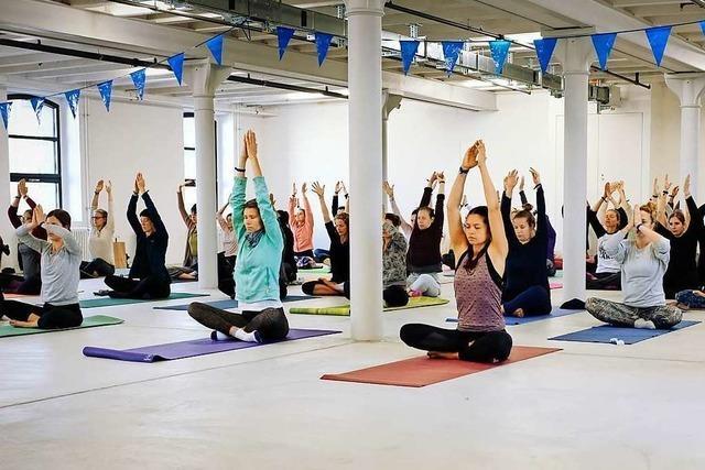 Das Dreiland Yoga Festival will einen Tag voller Achtsamkeit, Bewegung und Freude bieten