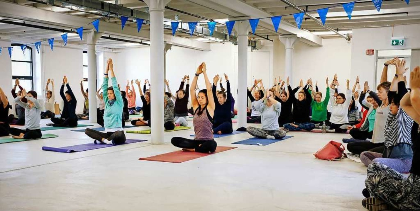 Das Interesse an Yoga ist ungebrochen.  | Foto: Dreiland Yoga Festival