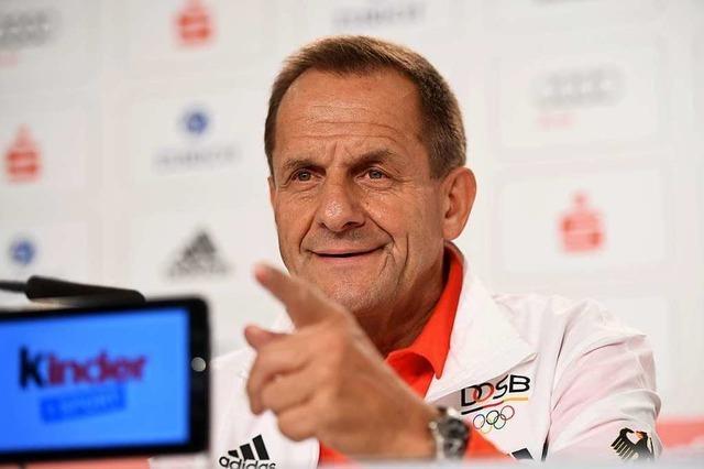 DOSB-Chef Hörmann in Sachen Doping und Sperre für Russen: