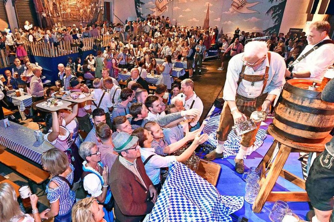 Rund 7500 Besucher kamen an den zehn Tagen zum Oktoberfest bei Ganter    Foto: Michael Bamberger