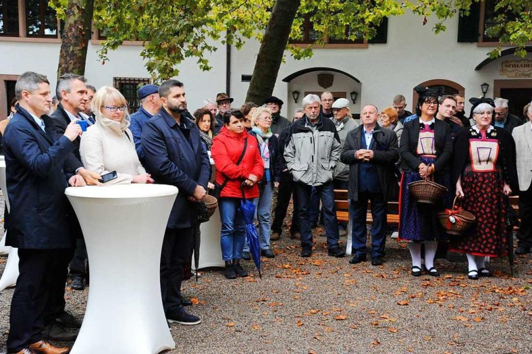 Aufmerksame Zuhörer aus Deutschland und Polen  | Foto: Hans-Peter Müller