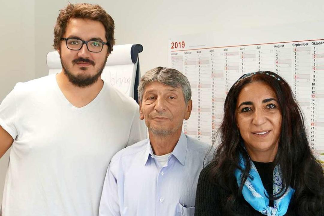 Seit Juni 2018 sind sie die Integratio...ks), Bülent Beskaya und Rafika Aydogan    Foto: Dora Schöls