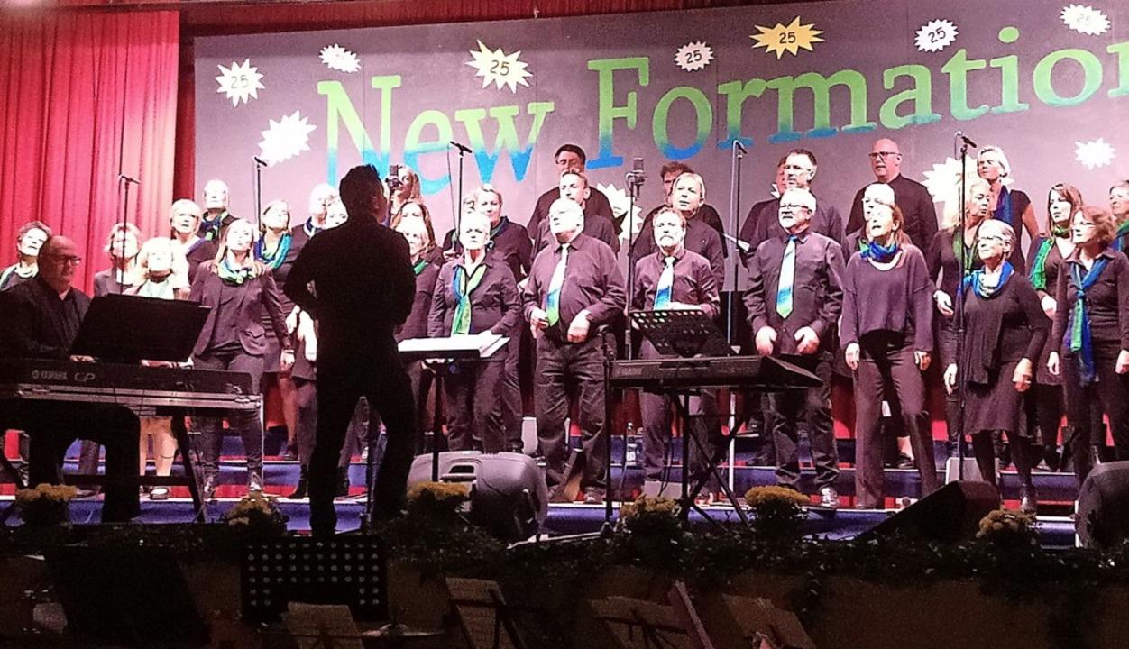 25 Jahre New Formation – das wurde natürlich mit Musik gefeiert.   | Foto: Daniel Scholaster