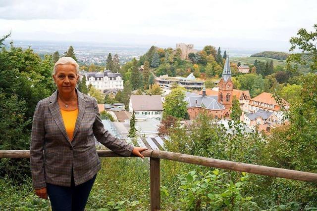 Ortsrundgang durch Badenweiler mit Bürgermeisterkandidatin Elke Barthel