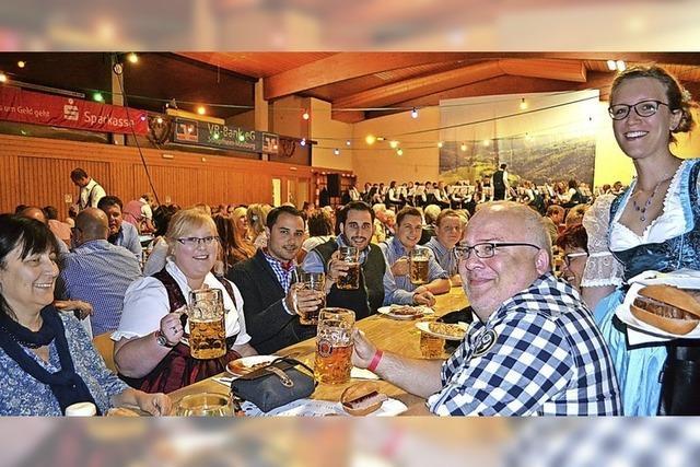 Bayrischer Flair in Utzenfeld