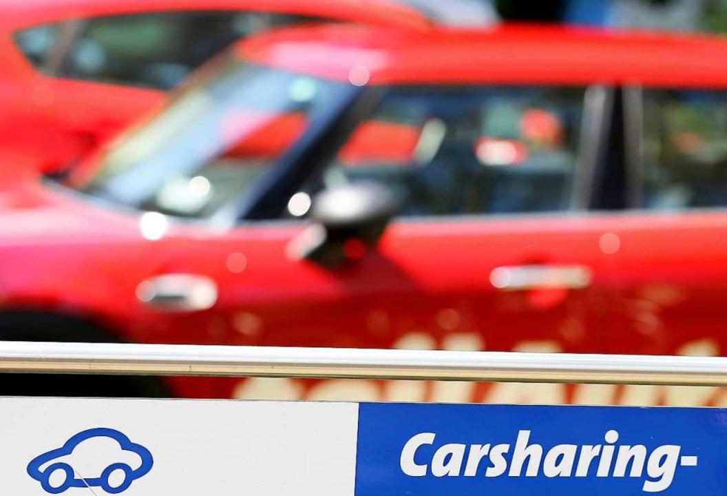 Die Zahl der Bundesbürger, die Carsharing nutzt, nimmt zu.  | Foto: Jan Woitas