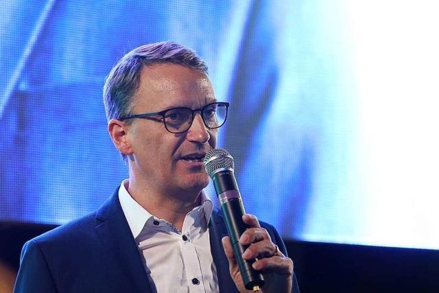 Markus Ibert punktet als Kandidat von hier