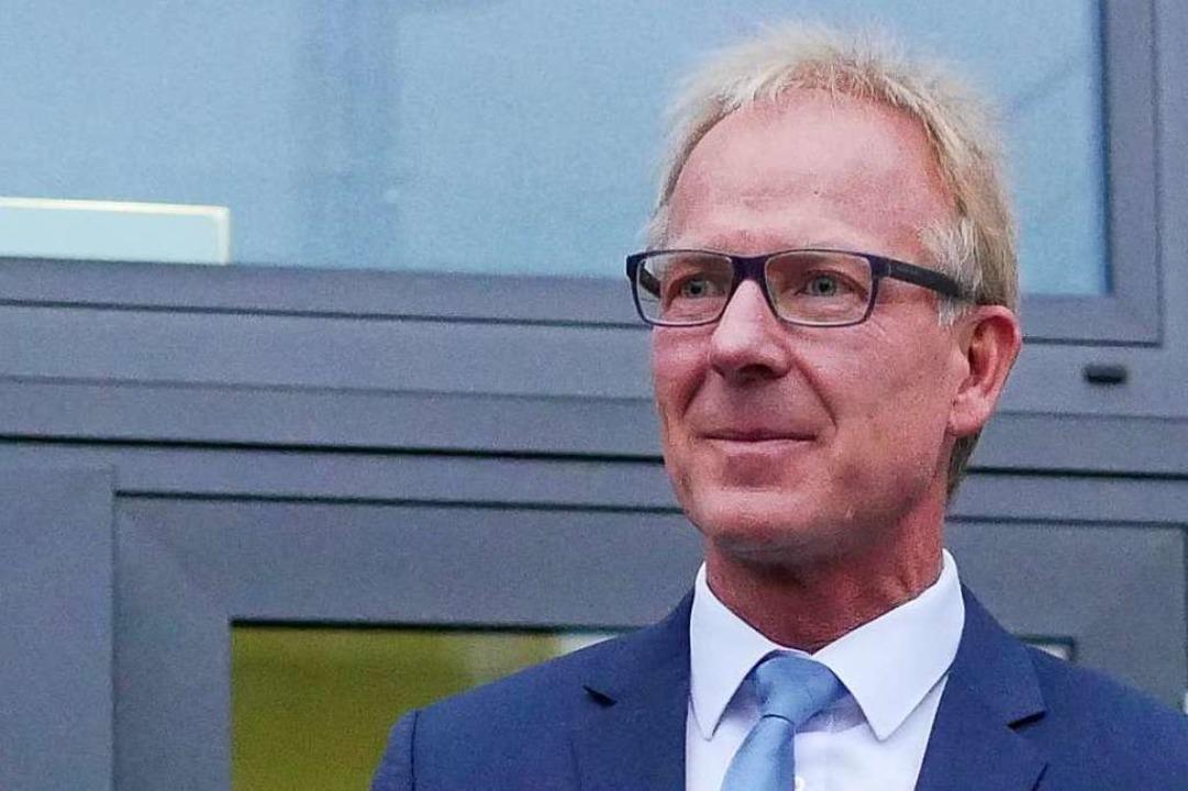 Geht in die dritte Amtszeit in Au: Jörg Kindel  | Foto: Jannik Jürgens